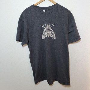 American Apparel | Moth Graphic | Medium